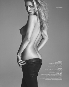 Joanna Krupa topless photo shoot