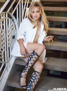 Kate Hudson sexy for Glamour