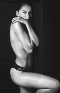 Laetitia Casta bw nude