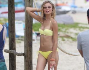 Magdalena Frackowiak bikini sexy