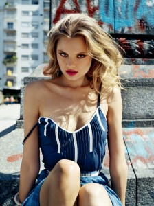 Magdalena Frackowiak nip slip