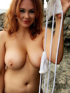 Maitland Ward private topless