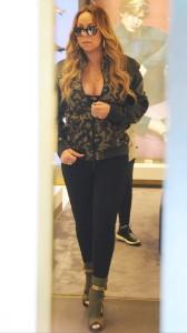 Mariah Carey candids