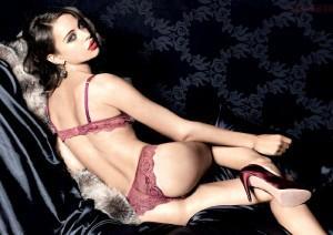 Nicole Meyer hot lingerie