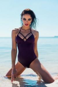 Nicole Meyer hot swimsuit