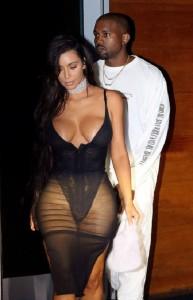 kim-kardashian-big-cleavage-dress