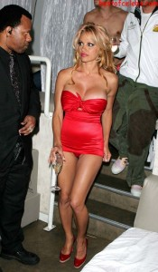 pamela-anderson-paparazzi-cleavage-and-upskirt