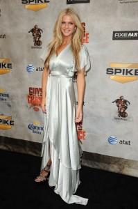 brooklyn-decker-sexy-silver-dress