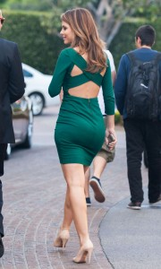 Maria Menounos Leaving The Grove After Taping Extra!