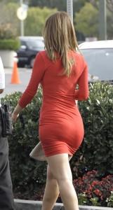 maria-menounos-sexy-red-dress