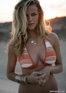 Brooklyn Decker - bikini photoshoot - (halaku.com)