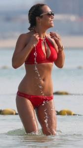 myleene-klass-red-bikini