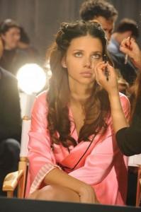 Adriana Lima Fashion Show