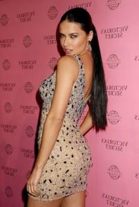 Adriana Lima in sexy dress
