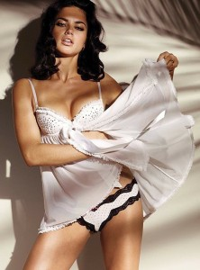 Adriana Lima in sexy lingerie photo