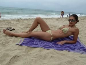 Adrianne Curry in bikini