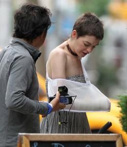 Anne Hathaway Candids