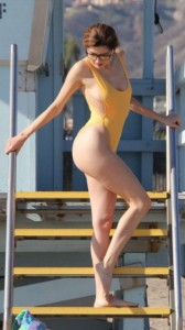Blanca Blanco hot yellow swimsuit