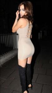 Carla Howe sexy ass in dress