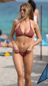 Charlotte Mckinney in sexy bikini