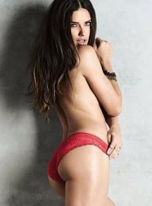 Hot Adriana Lima Topless