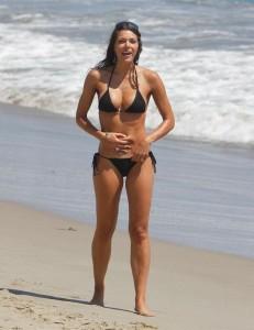 Hot Adrianne Curry in bikini
