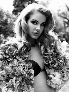 Lana Del Rey bw photoshoot