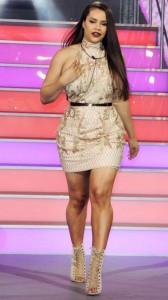 Lateysha Grace tight dress