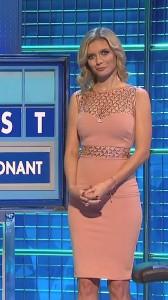 Rachel Riley sexy pink dress