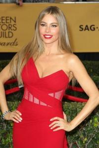 Sofia Vergara sexy red dress