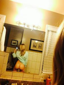 AJ Michalka nude selfie