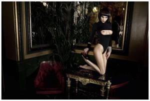 Elsa Hosk naked photoshoot