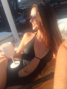 Jennifer Metcalfe hot swimsuit
