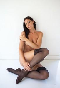 Amanda Kimmel pantyhose
