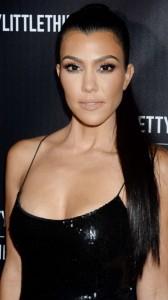 Kourtney Kardashian sexy dress