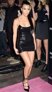 Kourtney Kardashian sexy tight dress
