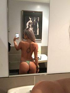 Ashley Lamb hot selfie