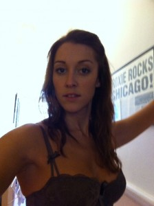 Michelle Antrobus hot bra