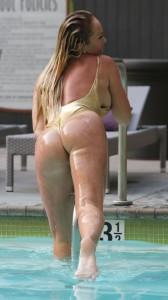 Aisleyne Horgan Wallace sexy ass