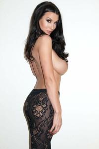 Alice Goodwin Topless - Hard Nipples