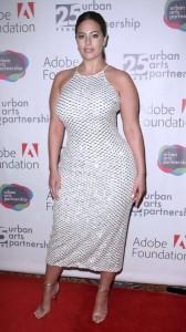 Ashley Graham sexy dress