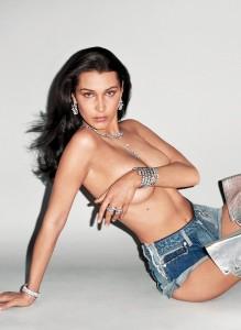 Bella Hadid naked photoshoot