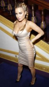 Carla Howe cleavage