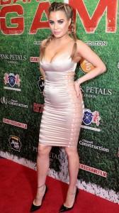 Carla Howe hot tight dress