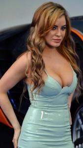 Carla Howe huge cleavage