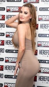 Carla Howe tight dress