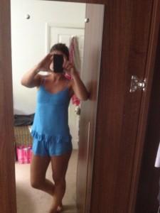 Bianca Westwood selfie stolen