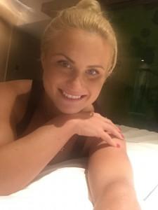 Carly Booth celebgate selfie