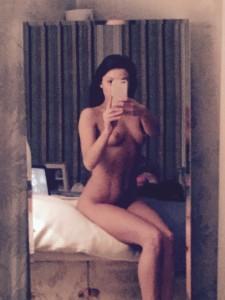 Faye Brookes selfie