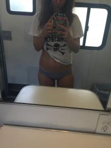 Juno Temple hot selfie